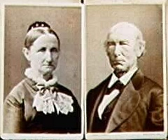 My great great grandparents, Olive Ingalls Carter and Pulaski Carter